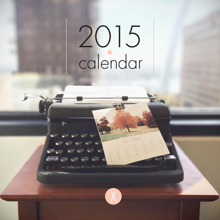 2015 DIY Photo Calendar