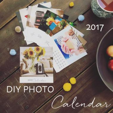 2017 DIY Calendar