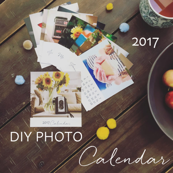 The 2017 Diy Photo Calendar Template