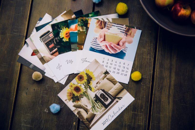 Diy Photo Calendar : Journal