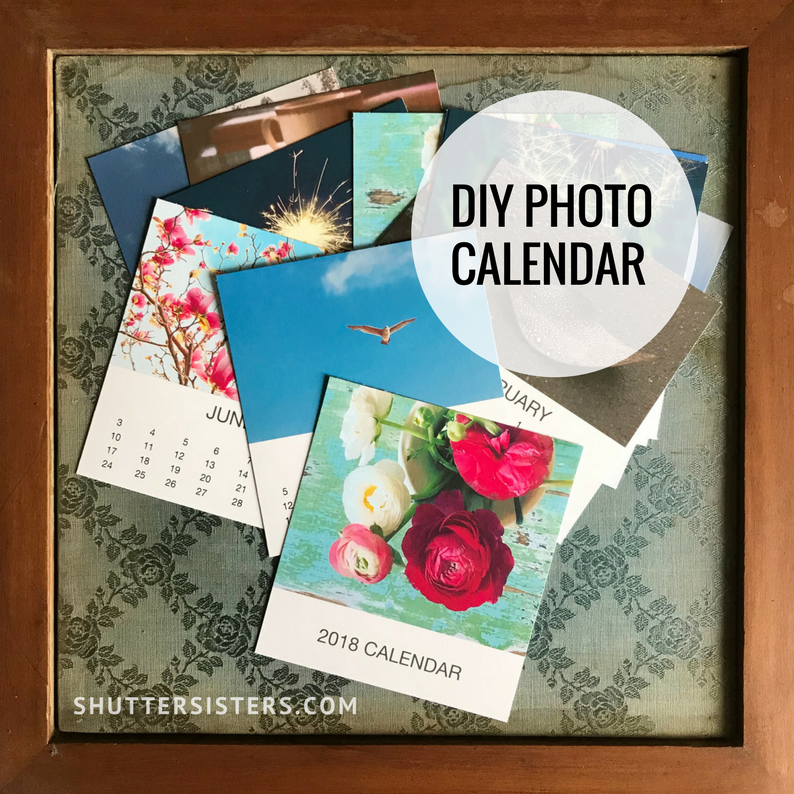 The 2018 DIY Photo Calendar
