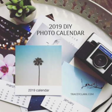 2019 DIY Photo Calendar